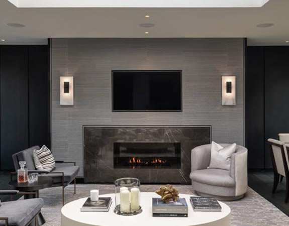 cheval place fireplace and flue design