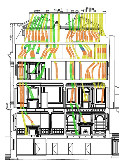 flue diagram